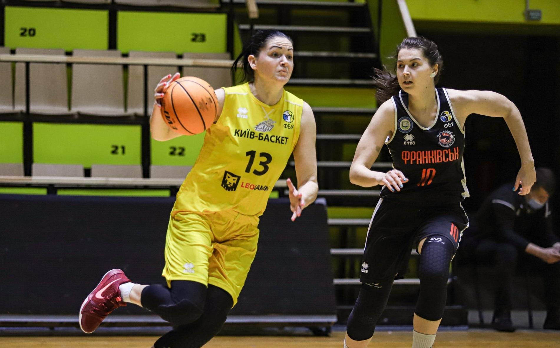 Київ-Баскет впевнено переміг Франківськ і вийшов у фінал жіночої Суперліги