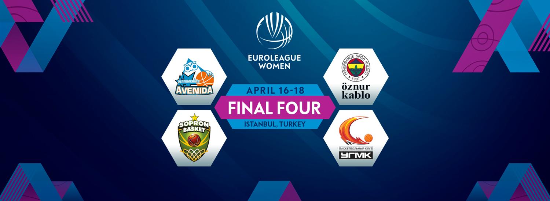 ФІБА визначила місце проведення Фіналу чотирьох жіночої Євроліги
