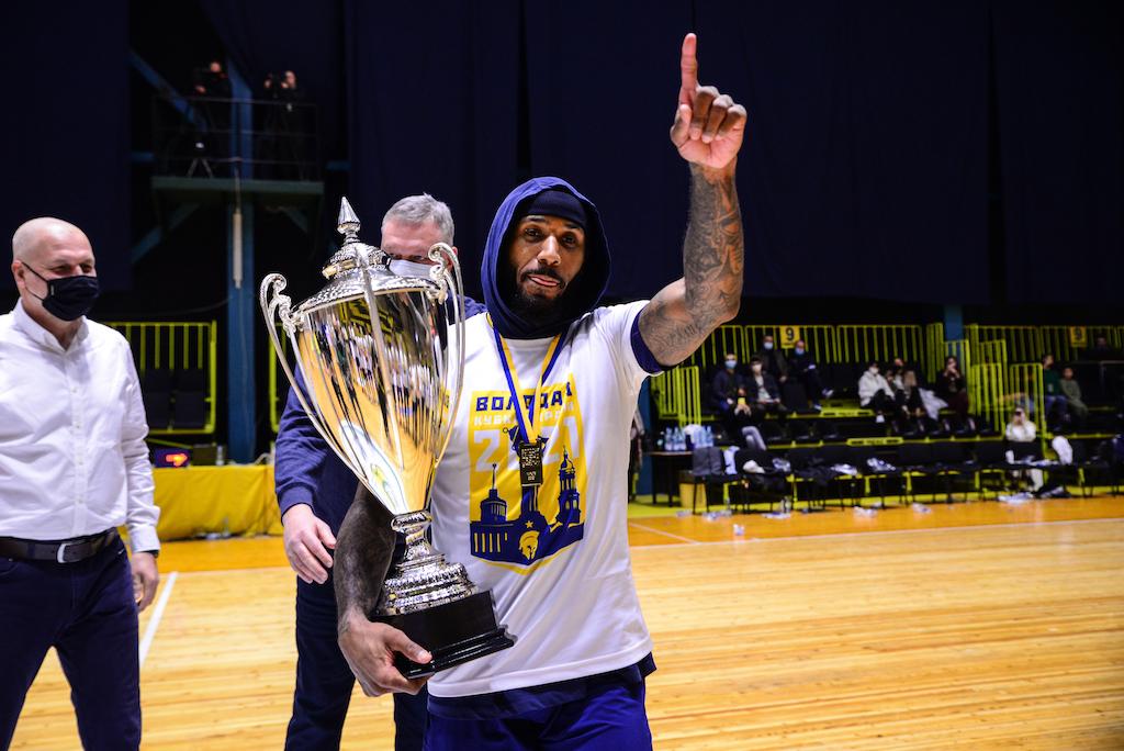 Стівен Буртт вдруге в кар'єрі отримав титул MVP Кубка України