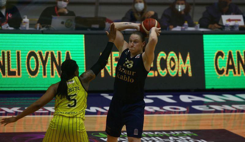 Фенербахче Ягупової вдруге переміг у півфіналі чемпіонату Туреччини