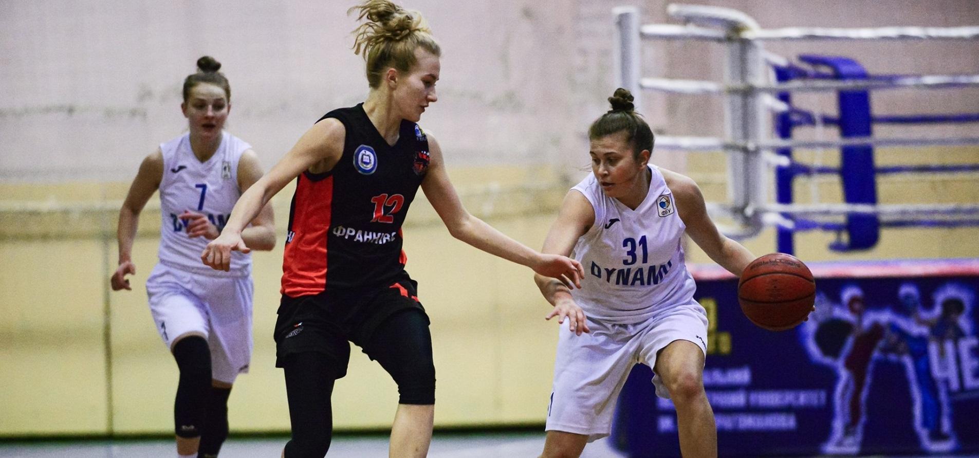 Динамо переграло Франківськ і здобуло другу перемогу в бронзовій серії жіночої Суперліги