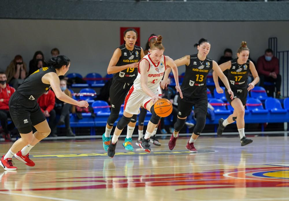 Прометей впевнено переміг Київ-Баскет у першому фінальному матчі жіночої Суперліги