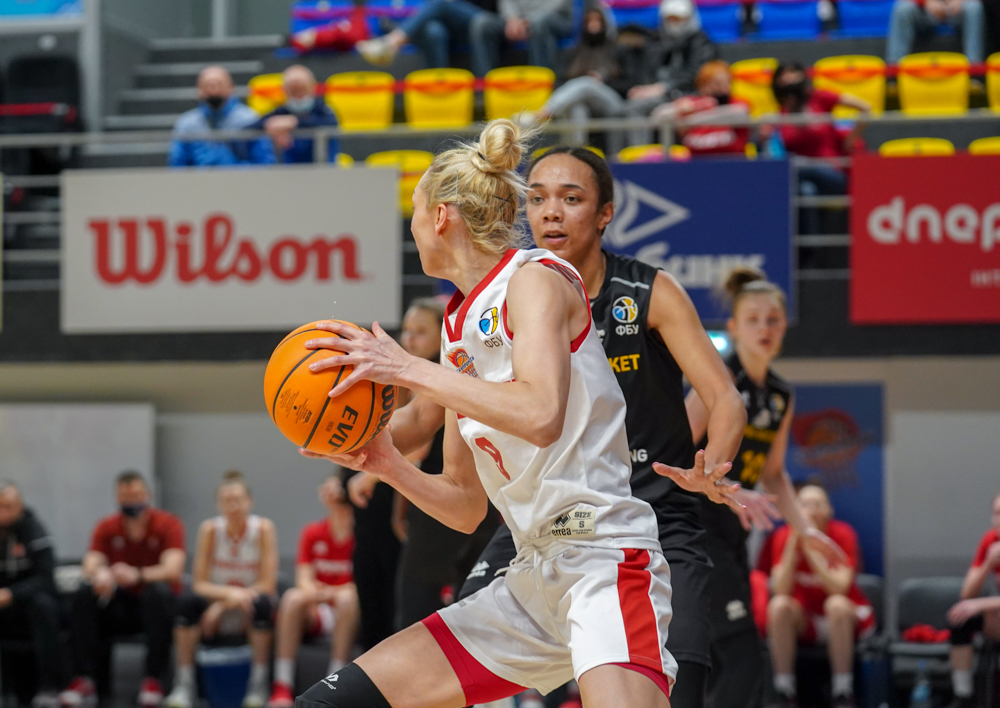 Прометей переміг Київ-Баскет у стартовому матчі фіналу серед жінок: фотогалерея