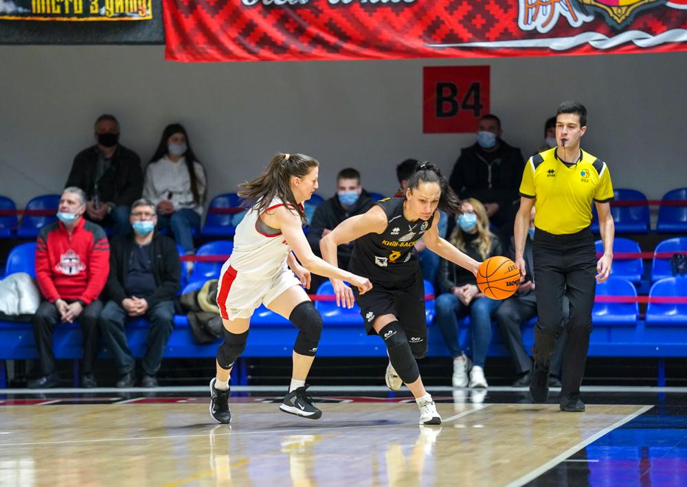 Прометей - Київ-Баскет: анонс другого матчу фінальної серії жіночої Суперліги 8 квітня