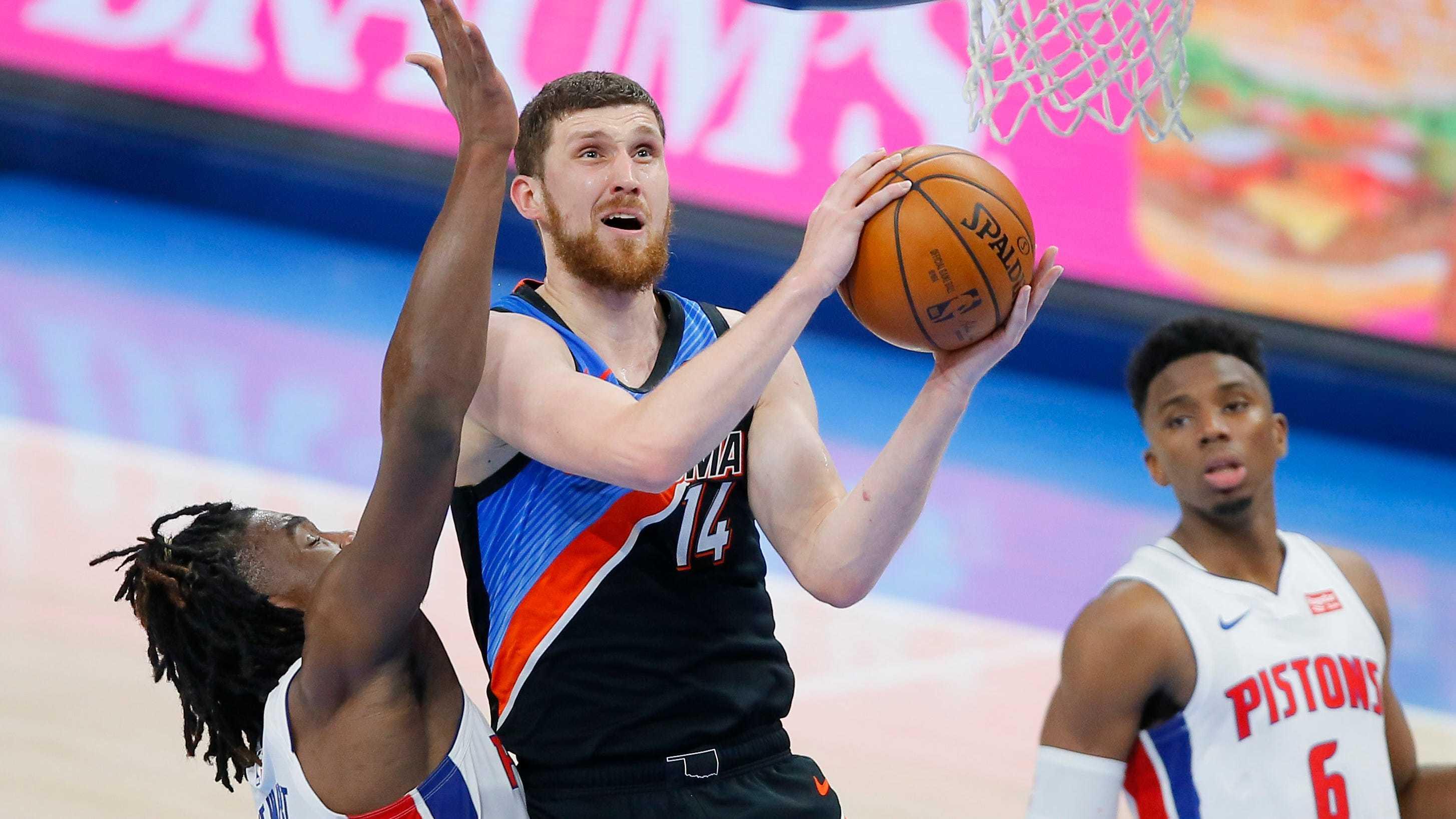 Святослав Михайлюк - п'ятий українець в історії, який набрав в НБА більше 1000 очок