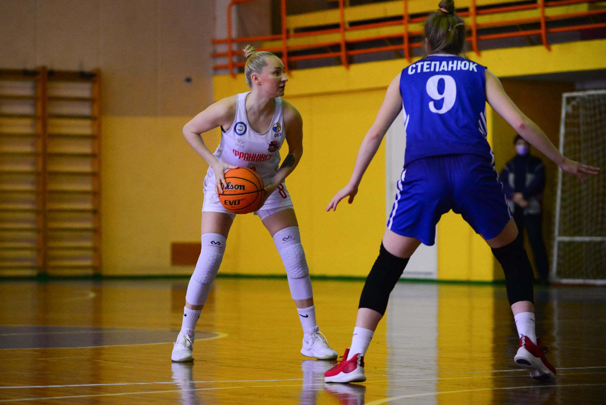 Франківськ - Динамо: анонс четвертого матчу бронзової серії жіночої Суперліги