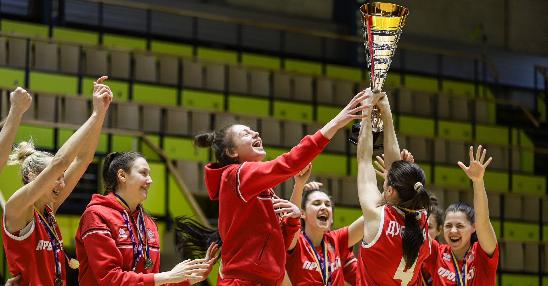 Прометей – чемпіон жіночої Суперліги сезону 2020/2021