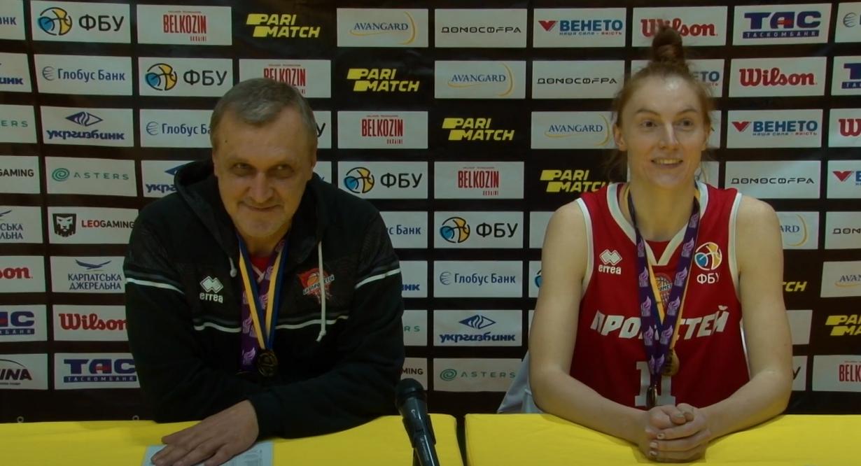 Жіночий Прометей у дебютному сезоні став чемпіоном України: відео коментарів