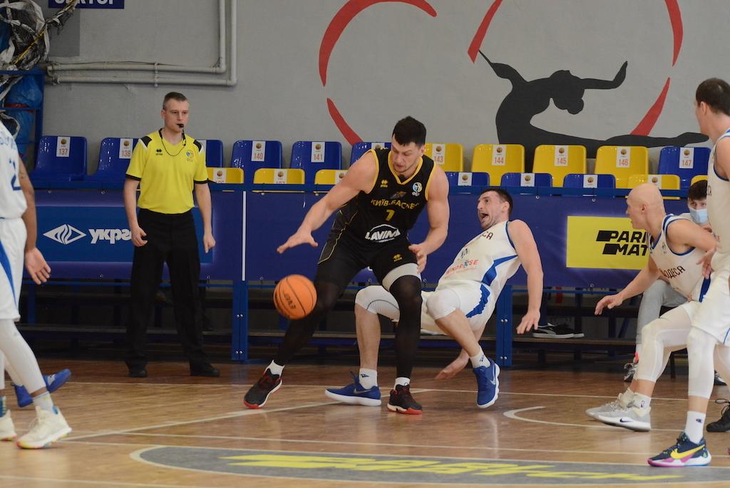 Київ-Баскет здобув важку перемогу в Одесі