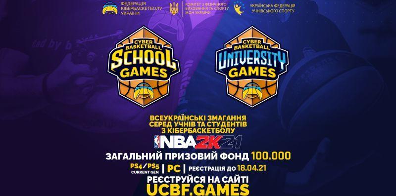 Стартувала реєстрація на Всеукраїнські змагання з кібербаскетболу серед учнів та студентів
