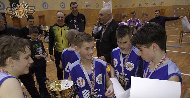 У Луцьку відбулися змагання Шабля 3х3 серед команд школярів