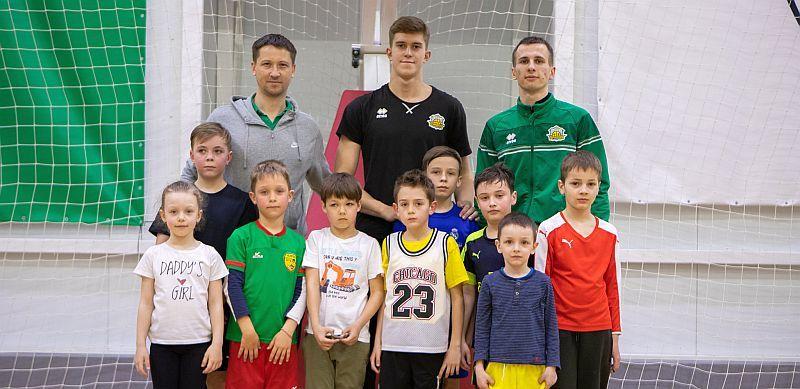 БК Тернопіль провів благодійну акцію на допомогу юному вболівальнику