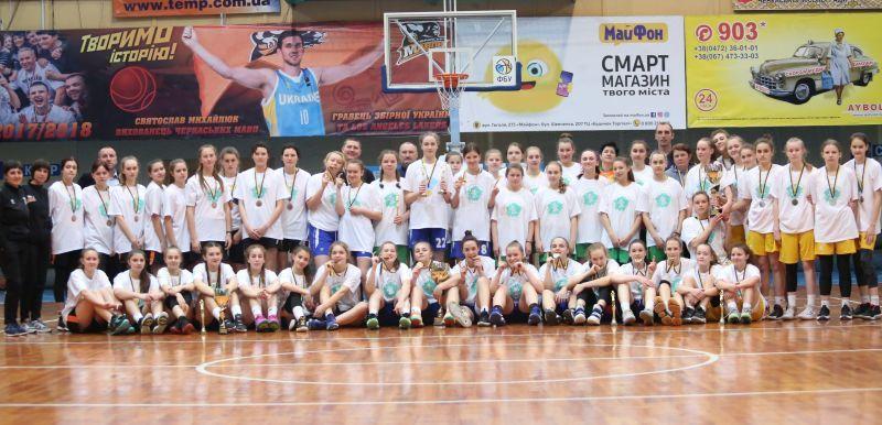 ВЮБЛ дівчат-2006: символічна збірна та MVP фіналу