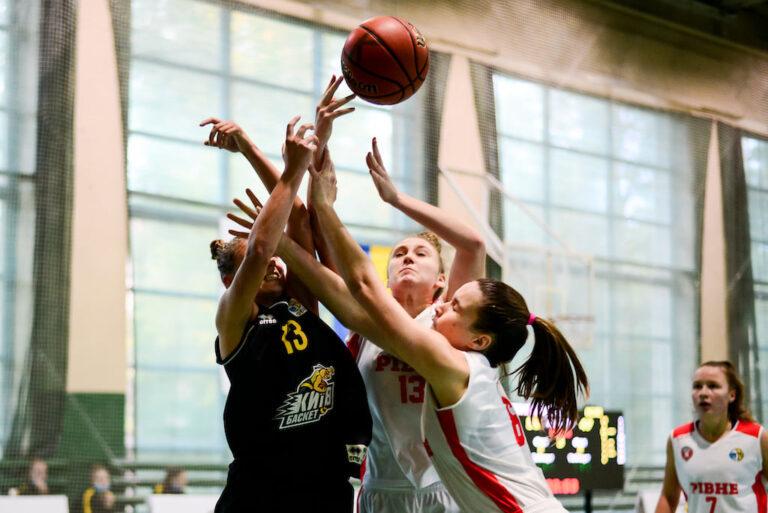 Жіноча Вища ліга: Рівне переграло КСЛІ-Київ-Баскет у другому матчі і повернуло серію до столиці