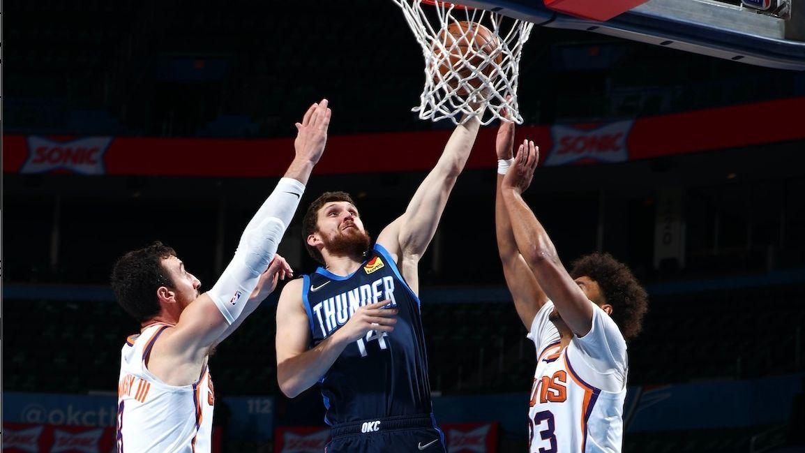 Данк Михайлюка потрапив в топ-10 моментів ігрового дня НБА: відео