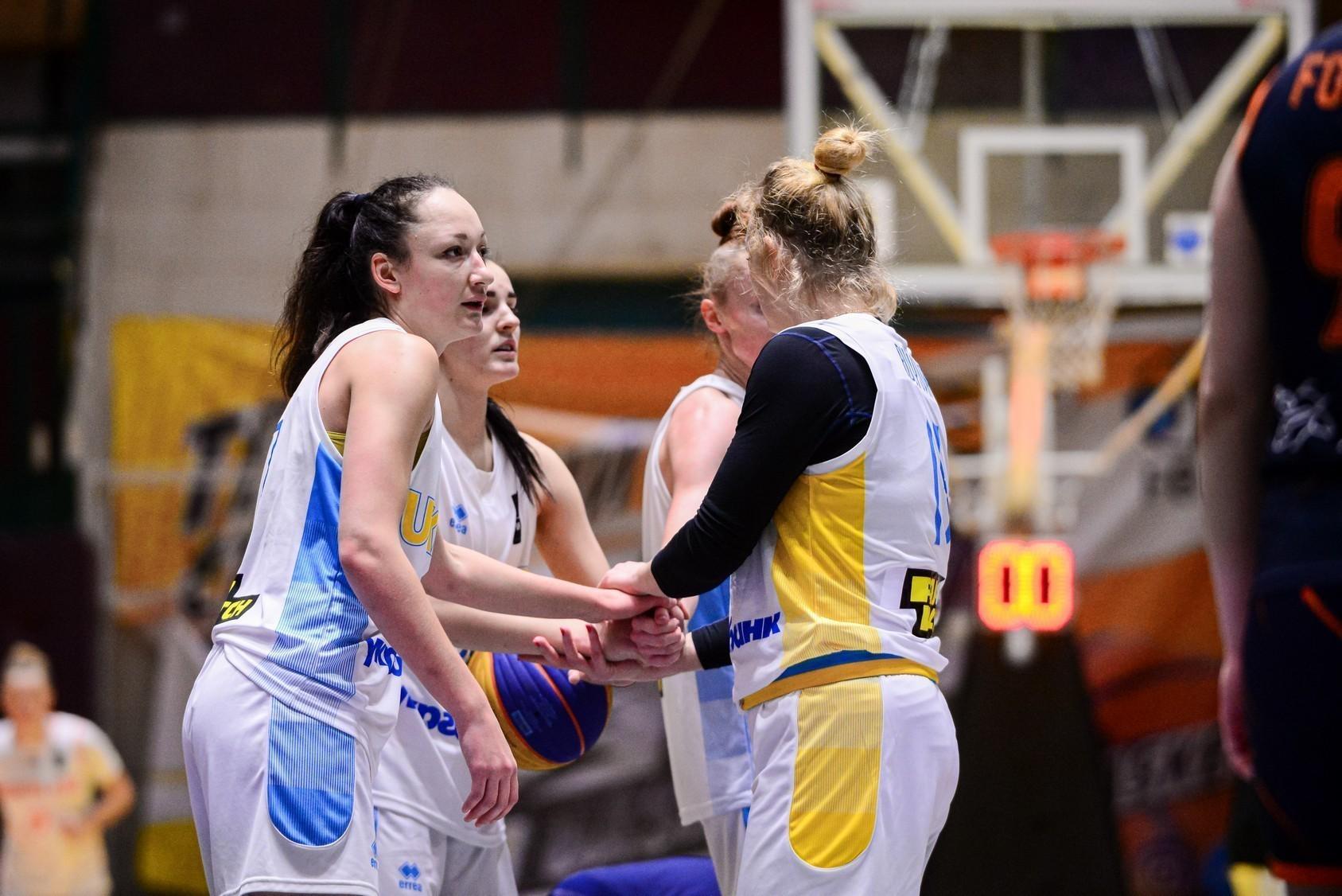 Жіноча збірна України 3х3 продовжить підготовку до олімпійської кваліфікації за кордоном