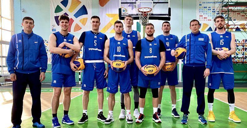 Чоловіча збірна України 3х3 зіграє у Франції