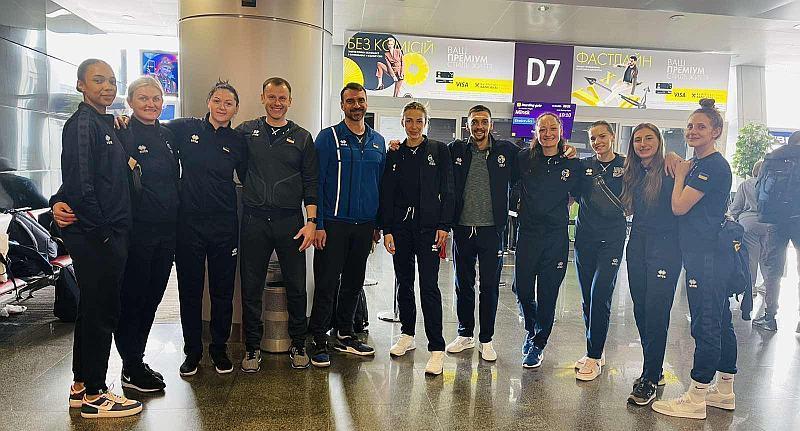 Жіноча збірна України 3х3 вилетіла на турнір у Білорусь