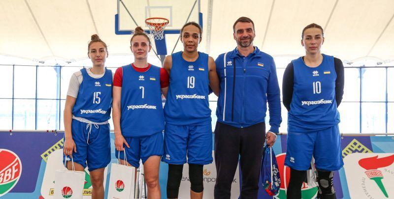Збірна України 3х3 виграла турнір в Білорусі