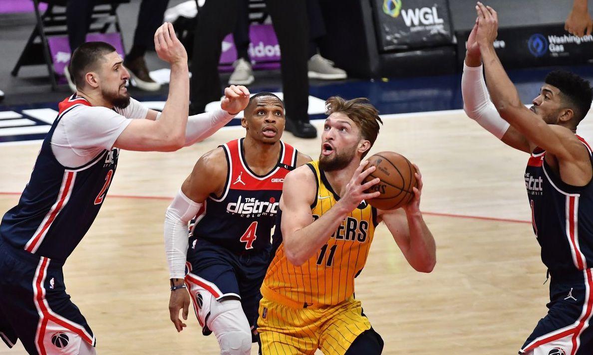 Олексій Лень вперше в кар'єрі вийшов у плей-оф НБА