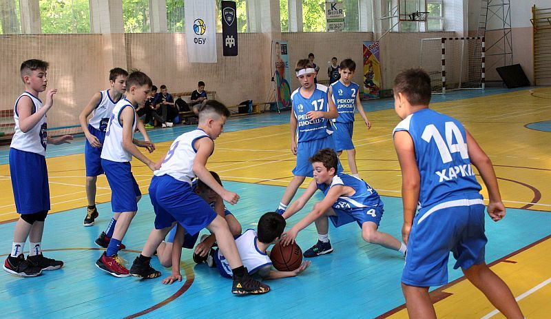 Зіграно стартові матчі фіналу ВЮБЛ юнаків-2009 дивізіону Б