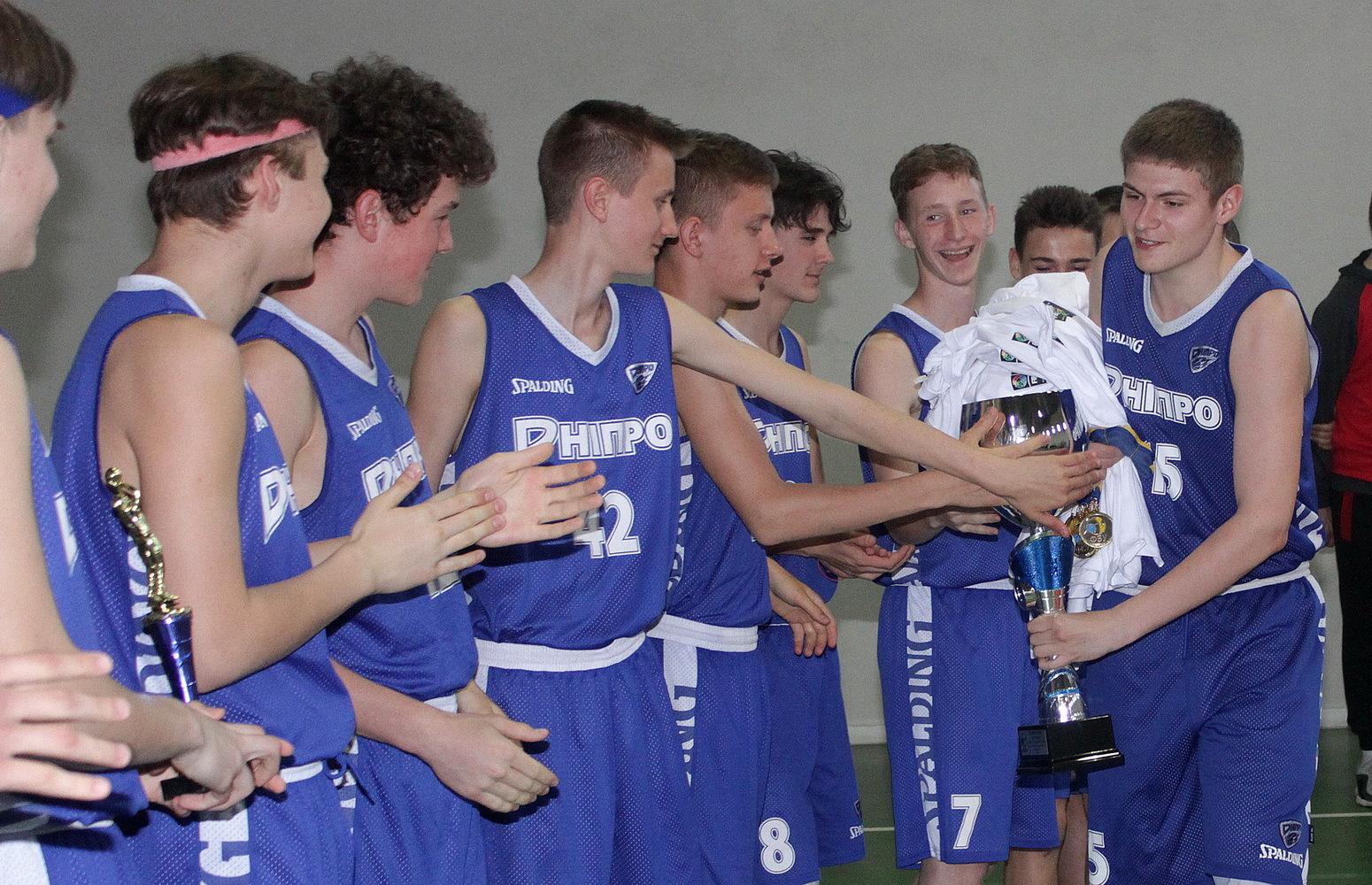 ВЮБЛ: СДЮСШОР-5 з Дніпра – чемпіон України серед юнаків 2006 року народження