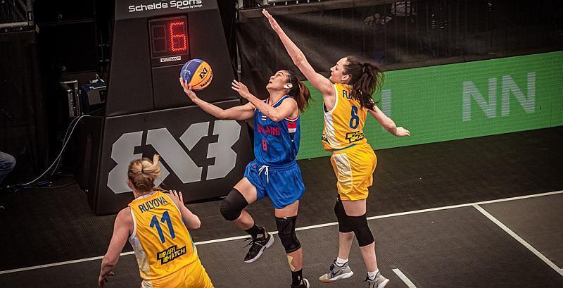 Збірна України 3х3 переможно стартувала в олімпійській кваліфікації