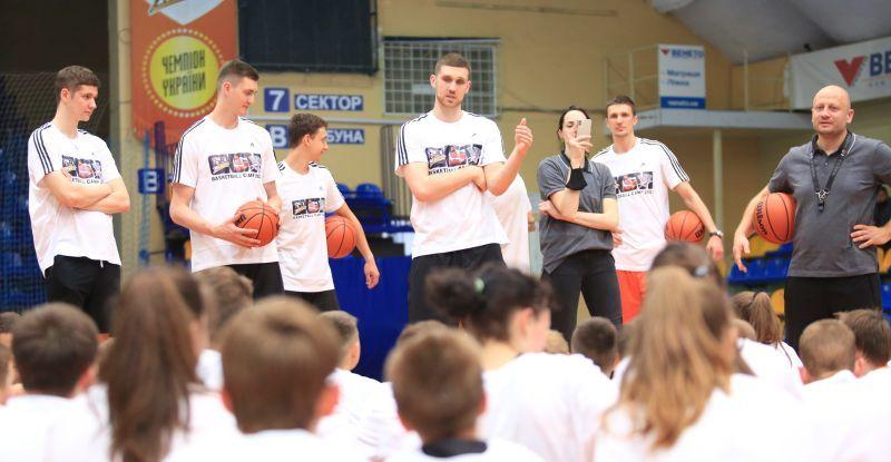 Грандіозний баскетбольний табір Михайлюка у Черкасах: фотогалерея