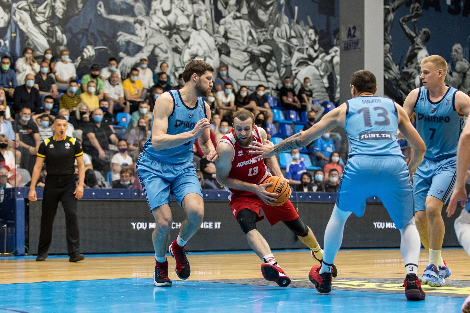 Прометей переміг Дніпро у другому матчі півфіналу і поновив паритет в серії