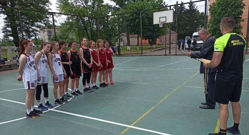 На Вінничині відбулися юнацькі змагання з баскетболу 3х3