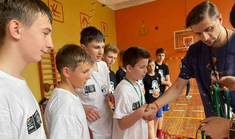 У Львові відбувся дитячий баскетбольний турнір