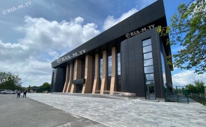 У Мелітополі відкрили сучасний баскетбольний зал ДЮСШ