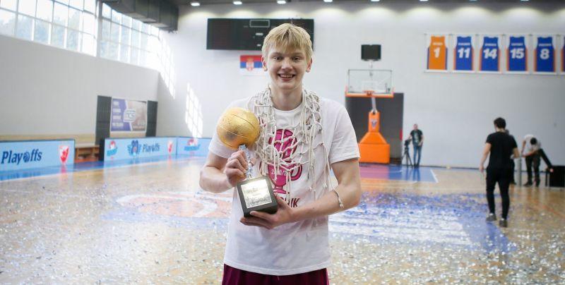 Українець Кобзистий зіграв у фіналі юнацької Євроліги