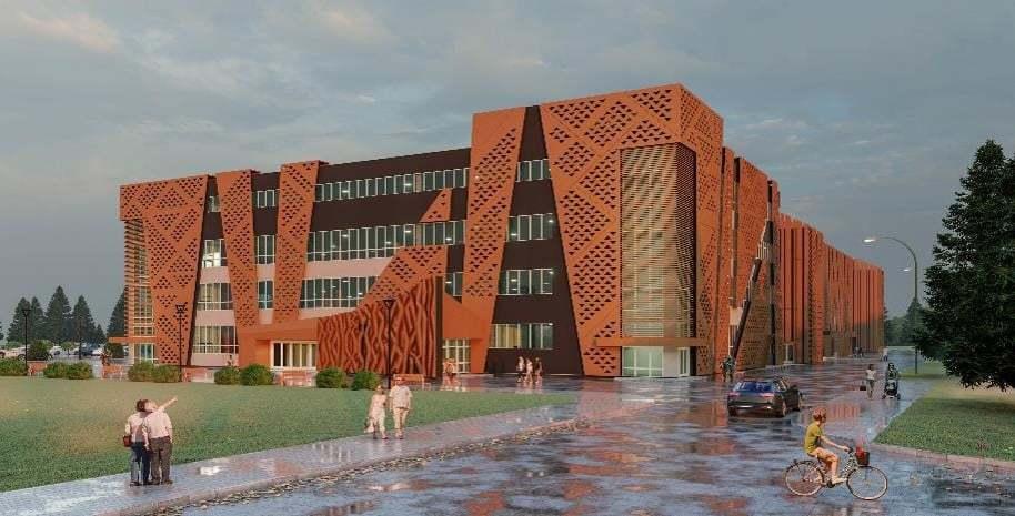 Держава профінансує продовження будівництва Палацу спорту в Хмельницькому