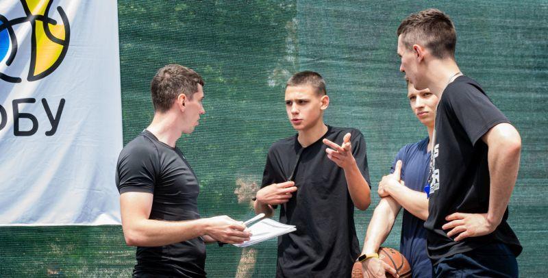 На Фестивалі мінібаскетболу відбувся кемп для молодих арбітрів