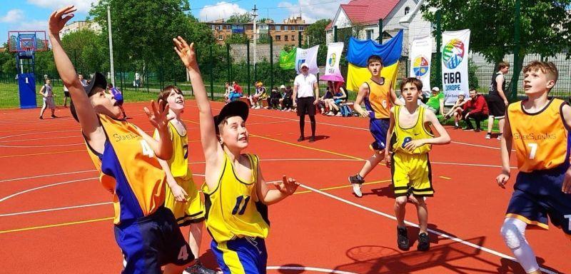 На Вінниччині відбулися юнацька першість з баскетболу 3х3