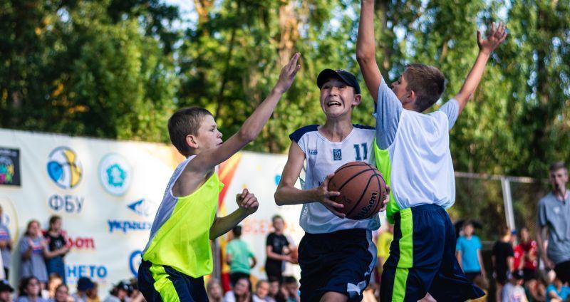 На Фестивалі мінібаскетболу відбулися зіркові матчі: фотогалерея