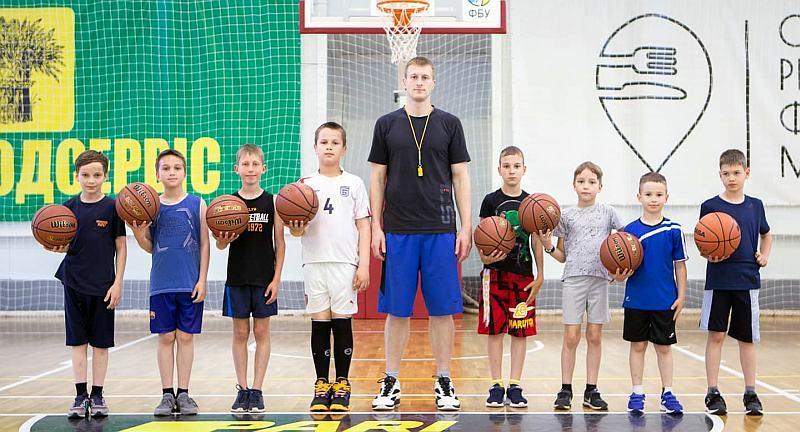 БК Тернопіль проводить тренування для дітей