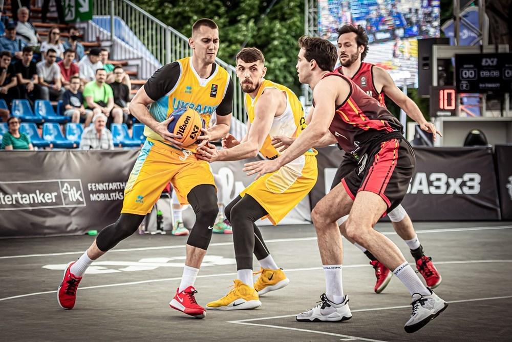 Відбір на чемпіонат Європи 3х3: розклад матчів збірних України