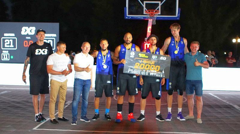 Чемпіонат України з баскетболу 3х3: відео вирішальних матчів 1 туру та нагородження