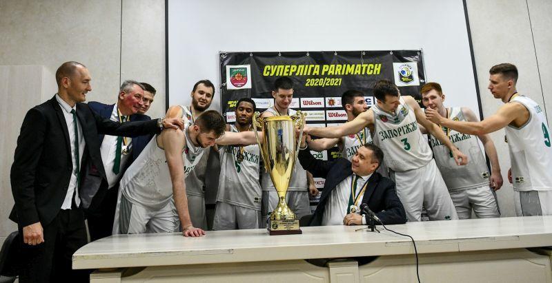 У Запоріжжі підбили підсумки срібного сезону в Суперлізі Паріматч