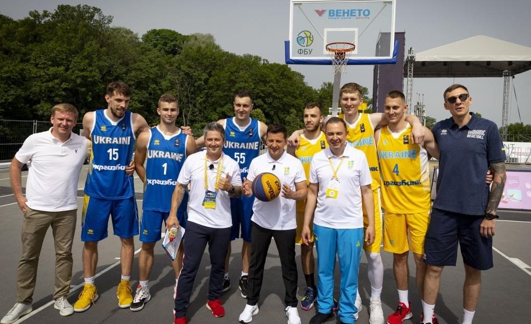 Зеленський відвідав локацію ФБУ на форумі «Україна 30. Здорова Україна»