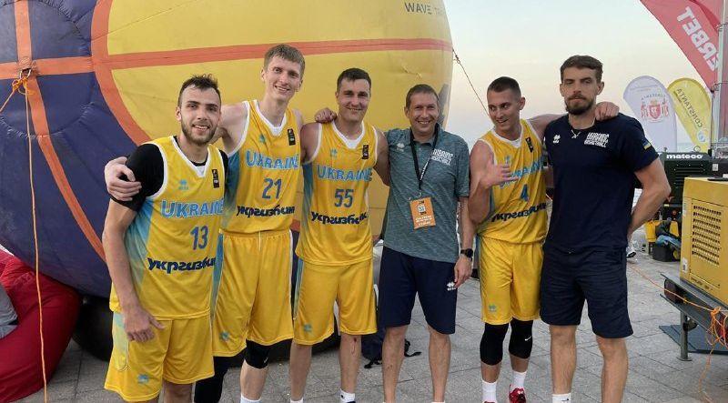 Чоловіча збірна України 3х3 впевнено вийшла на чемпіонат Європи