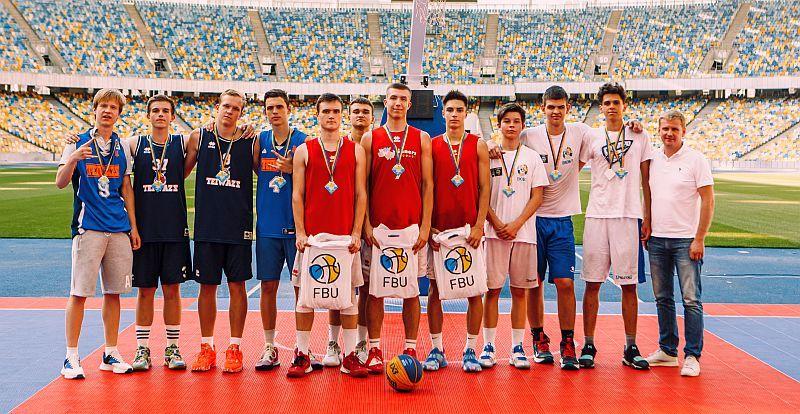 Визначилися переможці туру юнацького чемпіонату України 3х3 на Олімпійському