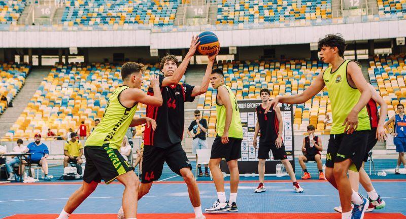 Тур юнацького чемпіонату України 3х3 на Олімпійському: фотогалерея
