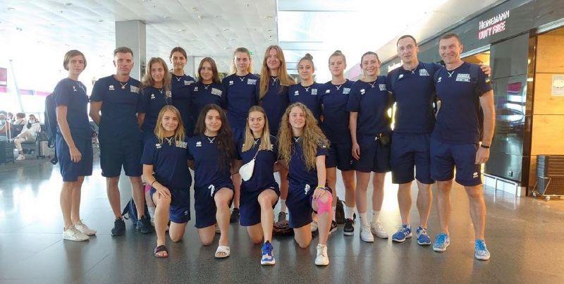 Жіноча збірна України U-20 вилетіла на матчі Єврочеленджера
