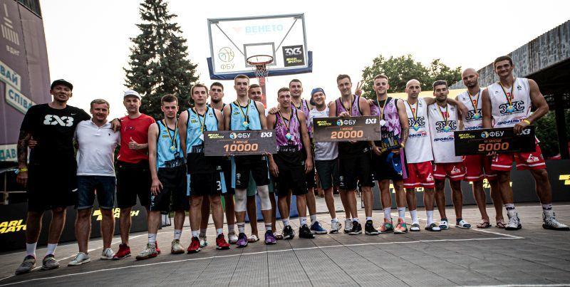 Визначилися переможці третього туру чемпіонату України з баскетболу 3х3