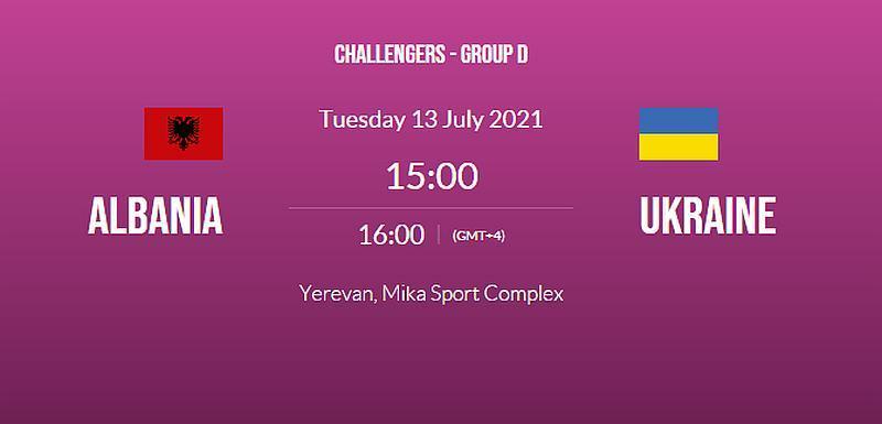 Жіночій Єврочеленджер: Албанія U-20 — Україна U-20