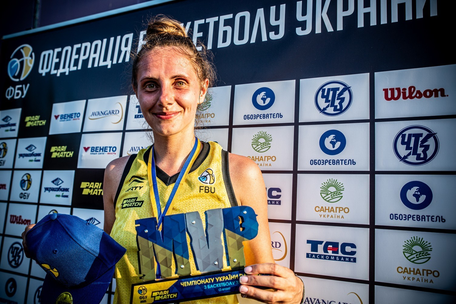 Визначено символічні збірні та MVP 2 та 3 етапів чемпіонату України 3х3