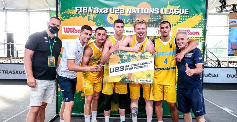 Збірна України впевнено перемогла на другому етапі Ліги Націй 3х3